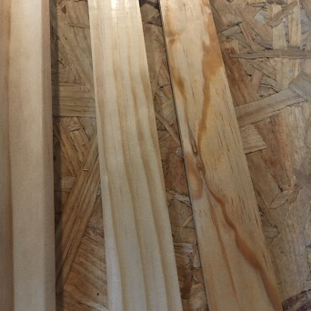 Pine trim